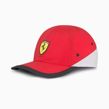 Ferrari SPTWR Race Unisex Baseball Cap, Rosso Corsa, small-IND