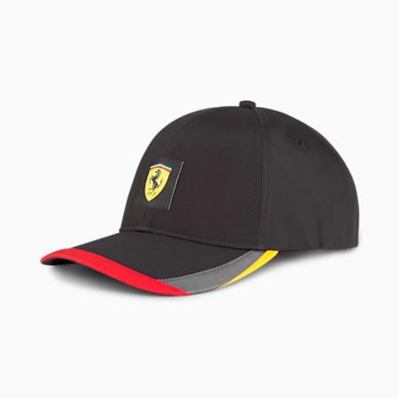 Ferrari SPTWR Statement Unisex Baseball Cap, Puma Black, small-IND