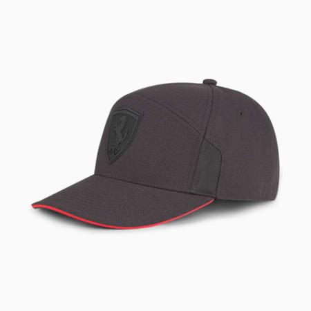 Scuderia Ferrari Sportswear Style Low Curve Cap, Puma Black, small-SEA