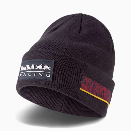Red Bull Racing Lifestyle Classic-Beanie mit Bündchen, NIGHT SKY, small