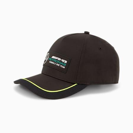 Mercedes F1 Baseball Cap, Puma Black, small-GBR