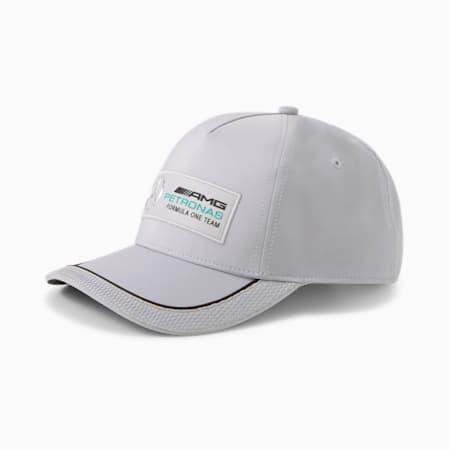 Mercedes F1 Unisex Baseball Cap, Mercedes Team Silver, small-IND