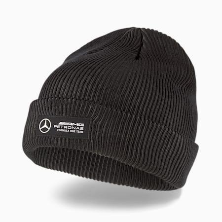 Klasyczna czapka Mercedes F1 z mankietem, Mercedes Team Silver, small
