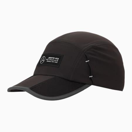 Mercedes F1 RCT Unisex Baseball Cap, Puma Black, small-IND