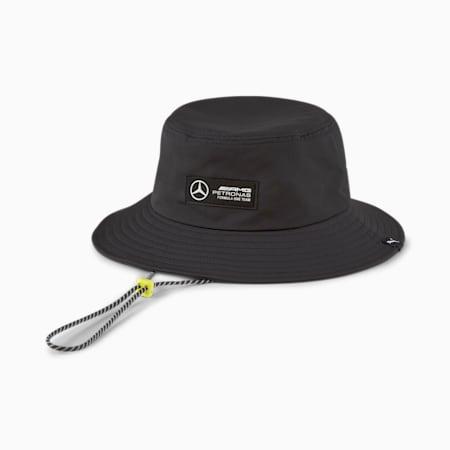 Mercedes F1 Bucket Hat, Puma Black, small