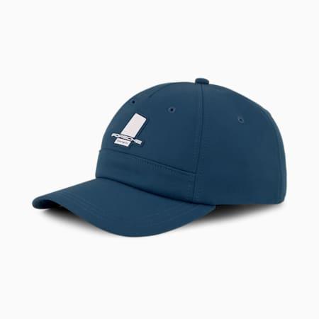 Porsche Legacy Unisex Baseball Cap, Intense Blue, small-IND