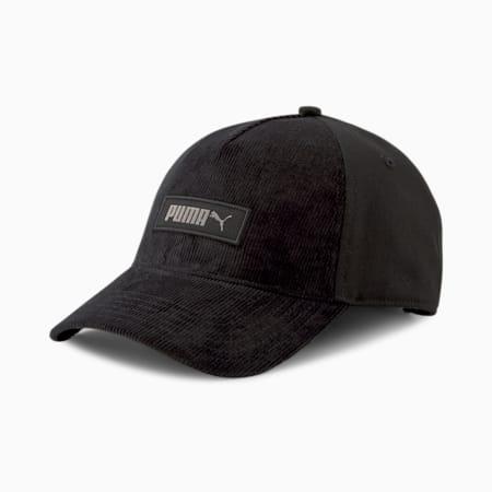 Archive Logo Label Unisex Cap, Puma Black, small-IND