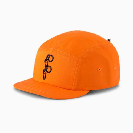 PUMA x PRONOUNCE Five-Panel Cap, Vibrant Orange, small
