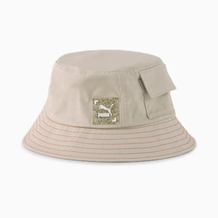 RE.GEN Bucket Hat, Peyote-Future Blue-Grenadine, small-SEA