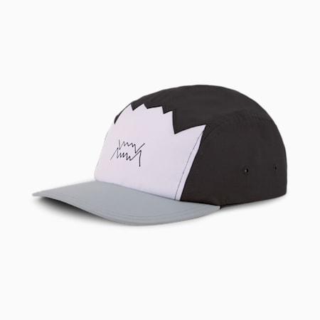 Gorra de baloncesto de cinco paneles, Puma Black, small
