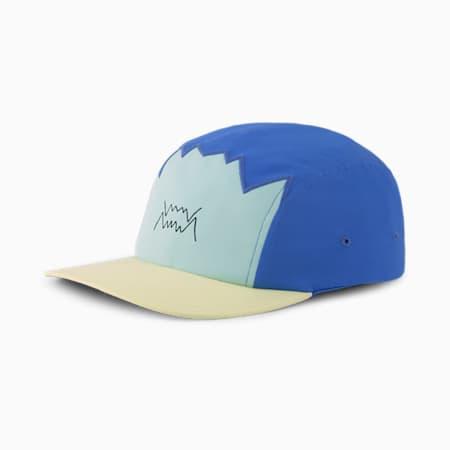 Gorra de baloncesto de cinco paneles, Bluemazing, small