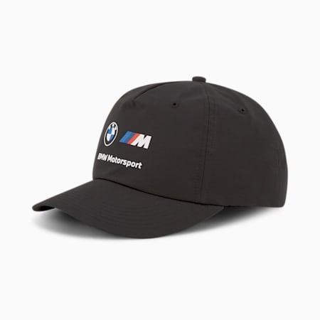 BMW M Motorsport Heritage Baseball 캡/BMW MMS Heritage BB Cap, Puma Black, small-KOR