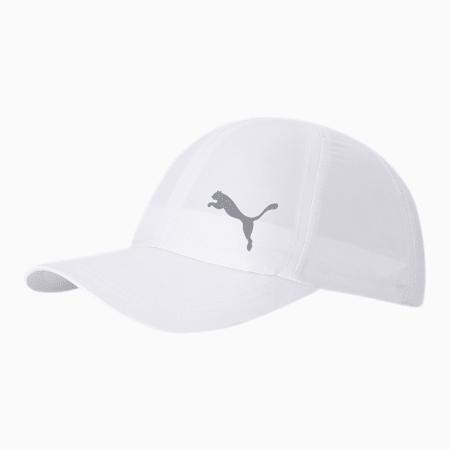 ESS Running Cap, Puma White-Cat, small-IND