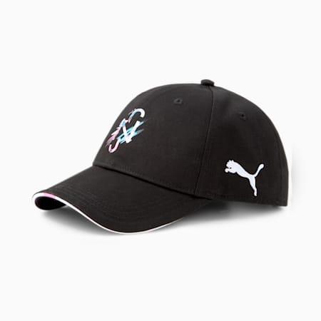 Neymar Jr Baseball Cap, Black-White-Pink-Blue, small