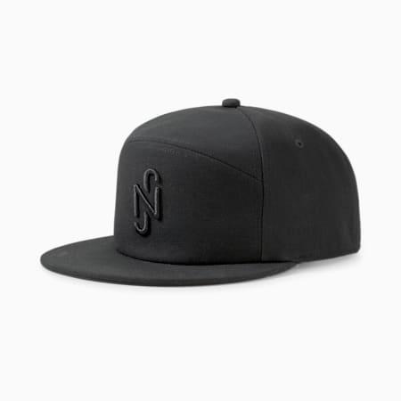 Neymar Jr. Unisex Flatbrim Cap, Puma Black, small-IND