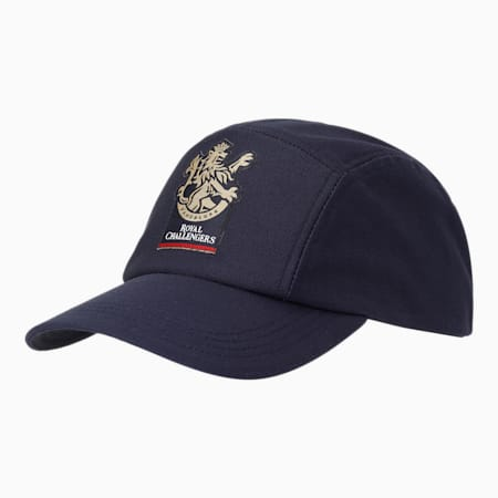 Royal Challengers Bangalore Men's Fanwear  Cap, Navy Blazer, small-IND