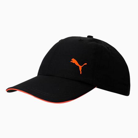 PUMA Unisex Visor Cap, Puma Black, small-IND