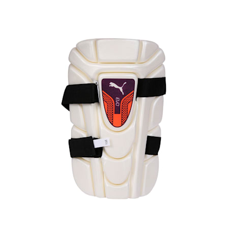 EVO moulded thigh pad, Puma White, small-IND