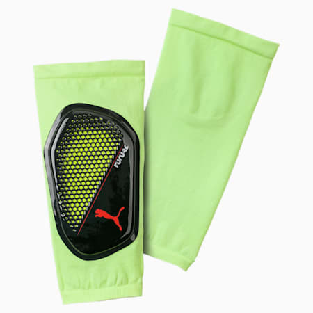 FUTURE 18.1 Shin Guards, Fizzy Yellow-Red Blast-Black, small