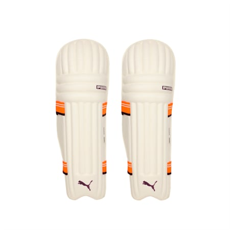 EVO 7 MD Youth Batting pad, Orange-Purple-White, small-IND