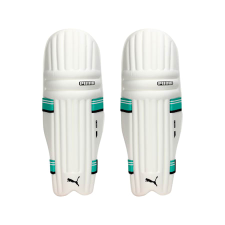 EVO 7 MD Youth Batting pad, Green Glimmer, small-IND