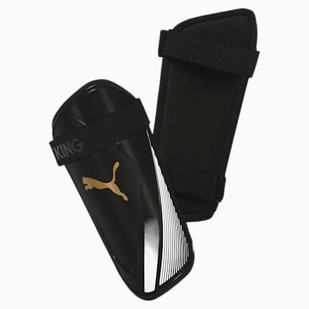 King ES 2 scheenbeschermers, Puma Black-Gold-Puma White, small