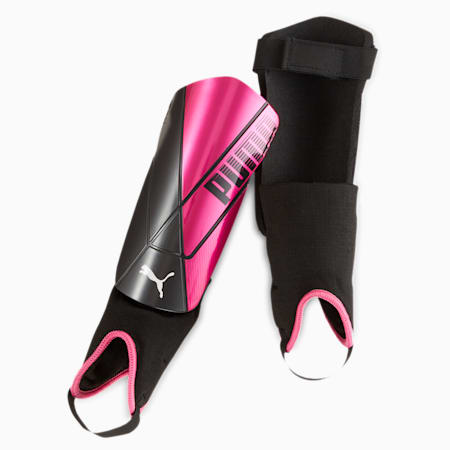 ftblNXT enkel-scheenbeschermers, Luminous Pink-Puma Black, small