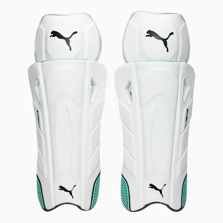 EVO 1 Wicket Keeper pad, Green Glimmer, small-IND