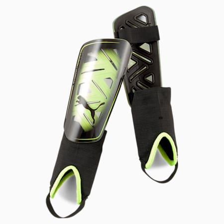 Piłkarskie ochraniacze na kostki ULTRA Flex, Yellow Alert-Puma Black, small