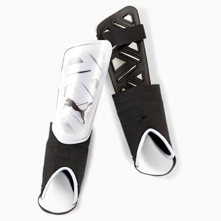 Piłkarskie ochraniacze na kostki ULTRA Flex, Puma Black-Puma White, small