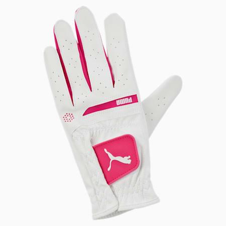 Golf Women's Flexlite Performance Left Hand Glove, white-beetroot purple, small-IND