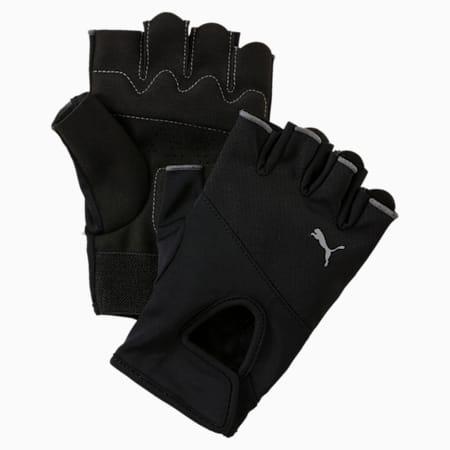 Training Gloves, Puma Black-Puma Silver, small-SEA
