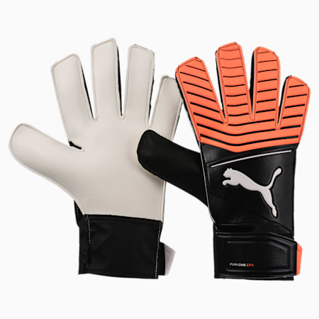 Puma One Grip 17.4, Black-Shocking Orange-White, small-IND