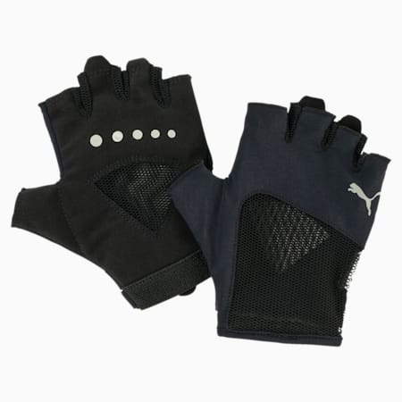Gym Women's Gloves, Puma Black, small
