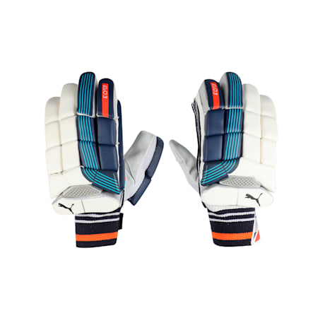 EVO 3 Batting glove, Nrgy Turquoise-Blue-Fiery-LH, small-IND