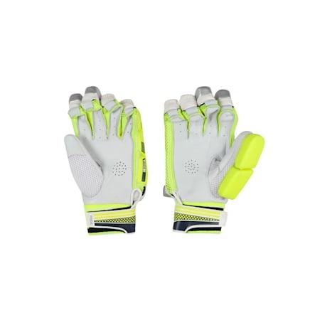 EVO 3 Batting glove, Yellow-Blue-White-RIGHT HAND, small-IND