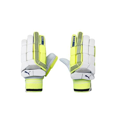 EVO 3 Batting glove, Yellow-Blue-White-LEFT HAND, small-IND