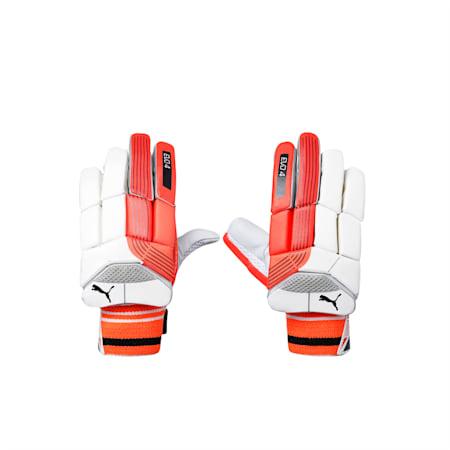 EVO 4 Batting Gloves, Fiery Coral-Black-White-RH, small-IND