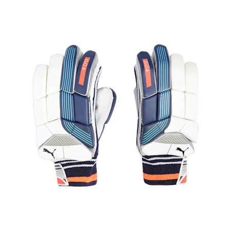 EVO 4 Batting Gloves, Nrgy Turquoise-Blue-Fiery-LH, small-IND