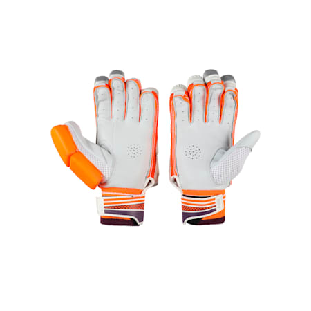 EVO 4 Batting Gloves, Orange-Purple-White-L H, small-IND