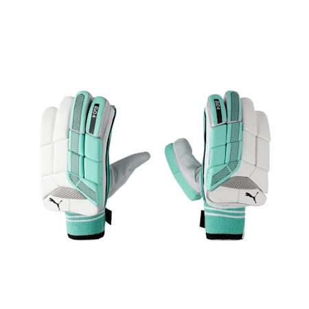 EVO 4 Batting Gloves, Green Glimmer, small-IND