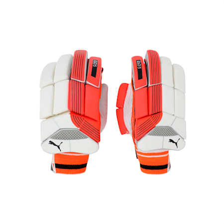 EVO 5 Batting glove, Fiery Coral-Black-White-RH, small-IND