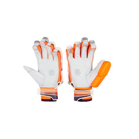 EVO 5 Batting glove, Orange-Purple-White-R H, small-IND
