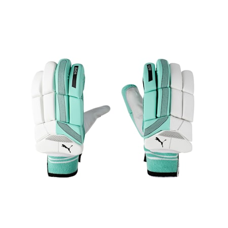 EVO 5 Batting glove, Green Glimmer, small-IND