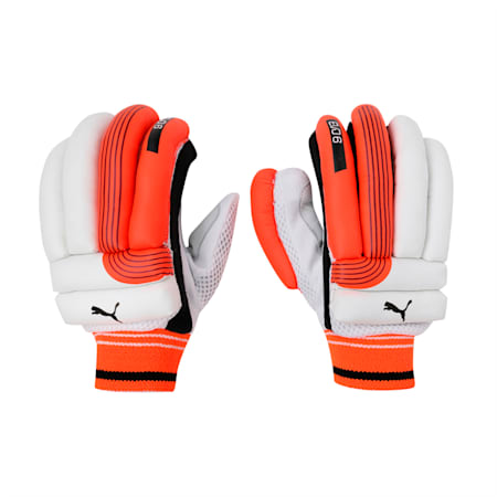EVO 6 Batting glove, Fiery Coral-Black-White-RH, small-IND