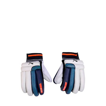EVO 6 Batting glove, Nrgy Turquoise-Blue-Fiery-LH, small-IND