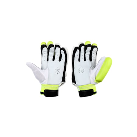 EVO 6 Batting glove, Yellow-Blue-White-RIGHTHAND, small-IND