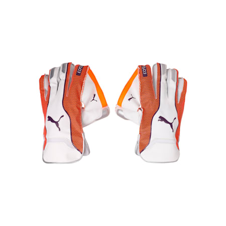 EVO 3 Wicket Keeper glove, Orange-Purple-White, small-IND