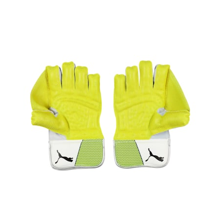 EVO 3 Wicket Keeper glove, Yellow-Blue-White, small-IND