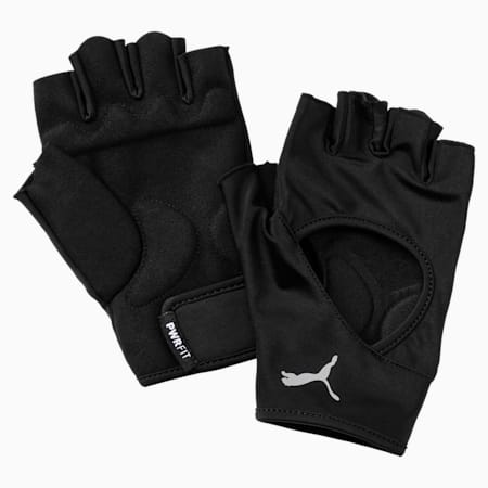 Essential Training Gloves, Puma Black-Gray Violet, small-SEA